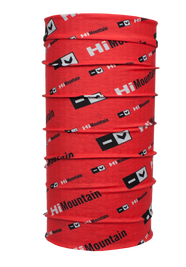 Chusta HiMountain LOGO red