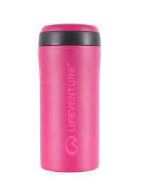 Kubek LIFEVENTURE Thermal Mug 300 pink matt