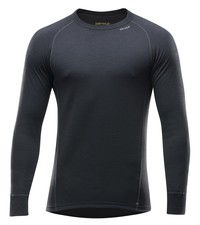 Koszulka Merino Wool DEVOLD Duo Active LS black