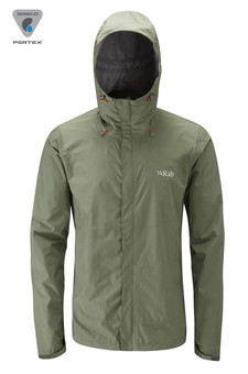 Kurtka RAB Downpour Jacket green