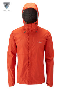 Kurtka RAB Downpour Jacket fire