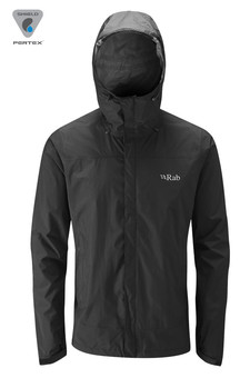 Kurtka RAB Downpour Jacket black