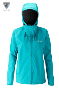 Kurtka RAB Downpour Jacket Lady tasman