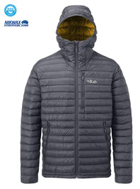 Kurtka RAB Microlight Alpine Long Jacket beluga
