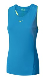 Koszulka MIZUNO Cooltouch Phenix Sleeveless Lady blue