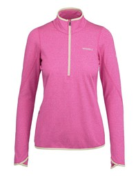 Bluza MERRELL BetaTherm 1/4 Zip Fleece damska rose