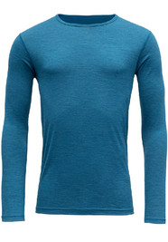 Koszulka Merino Wool DEVOLD Breeze LS blue