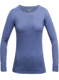 Koszulka Merino Wool DEVOLD Breeze Lady LS bluebell
