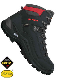 Buty LOWA Renegade GTX Mid black/red