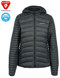 Kurtka MERRELL Ridgevent Thermo Hoody Lady black OUTLET