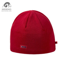 Czapka KAMA A02 MERINO WOOL red