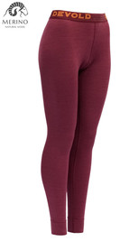 Kalesony Merino Wool DEVOLD Expedition Lady beetroot