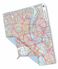 Ręcznik LIFEVENTURE SoftFibre OS Map Giant London